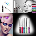 1X Colourful Liquid Eyeliner Pen WaterProof Charming Eye Liner Makeup Beauty