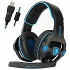 SADES SA-903 Gaming Headset Stereo7.1 Surround Sound USB Headphone For PC Laptop