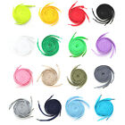 Flat Coloured Shoe Laces 30+ Colours Shoelaces Boot Trainer Shoes Athletic Sport