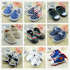Cute Baby Infant Todddler Boy Girl Soft Sole Shoes Sneakers Newborn UK Size 123