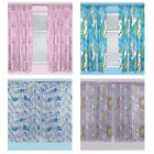 """OFFICIAL DISNEY FROZEN CURTAINS IN TWO DROP LENGTHS 54"""" OR 72"""" NEW BEDROOM"""