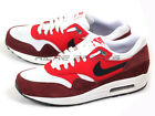 Nike Air Max 1 Essential White/Black-University Red Classic Running 537383-116