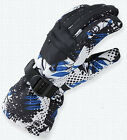 Men Winter Sport Warm Waterproof Snow Motorcycle Snowmobile Snowboard Ski Gloves