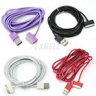 3M 10Ft USB Charging Data Sync Cables Charger Cord For iPhone 4 4S iPad iPod New