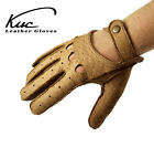 Men's peccary leather driving gloves - incredible soft and durable gloves