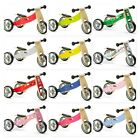 Nicko Mini Wooden Balance Bikes & 2 in 1 Bike Trikes Toddler 18 months Presents