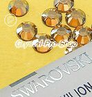 GENUINE Swarovski Golden Shadow ( GSHA ) Hotfix Rhinestone Iron on Crystal Bead