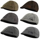 Crosshatch New Men's Fashion Flat Cap Hat Barber & Yorick Style One Size
