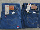 NEW Mens Levis 560 Comfort Fit Jeans- Medium (4891) or Dark (4886) Stonewash