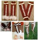 FOOTBALL Boys Leg Warmers Baby Girls Toddler Legging Pettiskirts Romper Sport