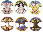 DOG TOY RINGS - FAT CAT Rope Canvas Flyer Frisbee Disc Toss Fetch Puppy Dog Toy