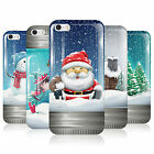 HEAD CASE CHRISTMAS IN JARS GEL REAR CASE COVER FOR APPLE iPHONE 5S