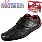 Lacoste Mens Protect Designer Leather Trainers New 2014 Black * AUTHENTIC *