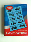 1-1000 Numbered Raffle ticket book Cloakroom/ tombola draw tickets