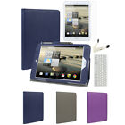 Slim Folio Leather Stand Case+Keyboard+Holder+LCD For Acer Iconia A1-830 7.9""