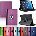 360° Rotating PU Leather Smart Case Cover Holder For New Apple iPad Air 2 iPad 6