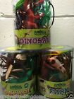 New Animal Collection toy figures with play base Dinosaurs, Safari or Farm 3+