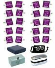 Purple Wedding Role Cufflinks Groom Best Man Father of the Bride Groomsman etc.