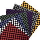 NEW Funky Extra Large XL Checker Bandana Chef  2 Colours Lightweight Cotton