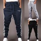 BIG SALE Comfy Mens Gym Slim Fit Sports Slacks Skinny Jogger Trousers Long Pants