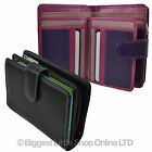 NEW Ladies REAL Leather Medium Tabbed PURSE/WALLET By Golunski GIFT Womens Handy