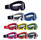 Scott Recoil Motocross MX Enduro MTB Mountain Bike Goggles With Clear Lens