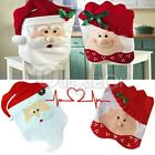Mr & Mrs Santa Clause Christmas Dining Room Chair Cover Home Party Decoration