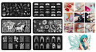 Hot Sale Nail Art DIY Image Stamping Steel Plates Manicure Template Tips Tool St