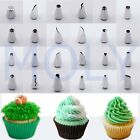 Cupcake Cake Tip Nozzles Decorating Buttercream Sugar Icing Piping Pastry Tools