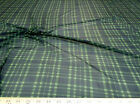 Discount Fabric Tartan Plaid PowerNet Mesh Spandex 4 way Stretch sheer 600PO