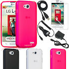 Flexible Slim TPU Durable Armor Case Cover Accessories for LG Optimus L90 D415