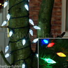 120 LED INDOOR & OUTDOOR CHRISTMAS XMAS TREE PINECONE FAIRY STRING LIGHTS 10M