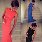 Sexy MERMAID Womens Ball Cocktail Formal Evening Gown Party Full Long Dress S~L