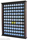 Shadow Box Wall Cabinet to hold 110 Golf Balls Display, w/ Glass Door