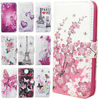 Cute Flower Leather Flip Stand Wallet Handbag Case Cover Skin For iPhone 5G 5S