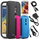 For Motorola Moto G 2nd Gen Hybrid TPU PC Protective Case Cover Skin Accessories