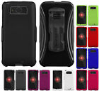 NEW HARD CASE BELT CLIP HOLSTER SCREEN PROTECTOR FOR MOTOROLA DROID MINI XT1030