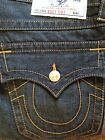 AUTHENTIC True Religion Jeans BOOTCUT WFLAPS RED ORANGE Mens Size 32 NEW
