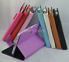 "Colorful Magic Leather Case Cover+Pen For 10.1"" Gigaset QV1030 Android Tablet PC"