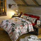 Vancouver Canada Bear & Moose #Bedding Quilt Duvet Cover & Pillowcase Set