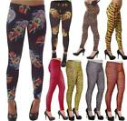 NEON LEGGINGS 80'S FANCY DRESS GOTH