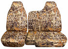 CC 98-03 FORD RANGER TREE CAMO CAR SEAT COVERS 60 /40 SPLIT BENCH W /MOLDED HR