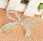 Living Up Cute Adjustable Crystal Butterfly Ring Rhinestone Bownot Rings EWUK