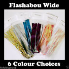2MM WIDE HOLOGRAPHIC FLASHABOU - krystal, tinsel, flash for fly tying Materials