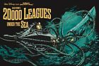 20,000 LEAGUES UNDER THE SEA JULES VERNE STEAMPUNK 1954 FILM POSTER A3 REPRINT