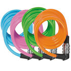 Kids Childrens Boys Girls Coloured Combination Bike Cycle Cable Lock - 120cm