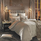 Lucette Praline Duvet Quilt Cover With Faux Fur Detail By Kylie Minogue At Home