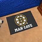 New NHL Hockey Team Logo Themed Man Cave Room Floor Rug Carpet Door Bath Mat