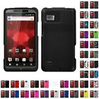 For Motorola XT875 (Droid Bionic) Hard Soft Silicone Hybrid Design Case Cover