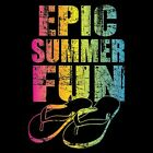 Epic Summer Fun Neon Tee Choose Style & Size Up to 4XL Glow w/ Blacklight 10501
